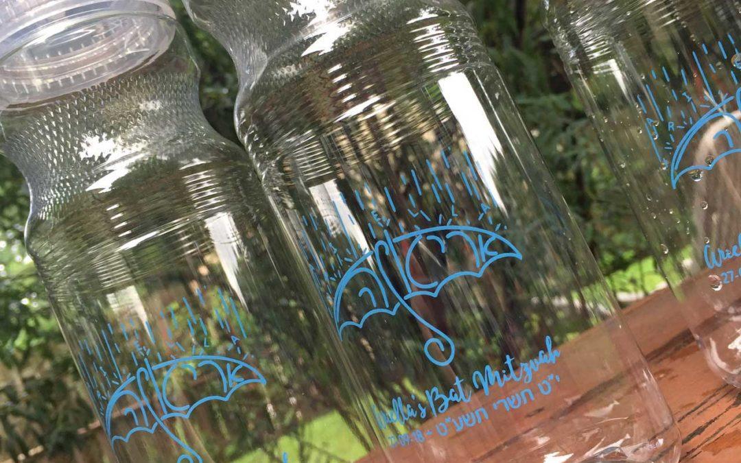 Bat Mitzvah Waterbottle Giveaway