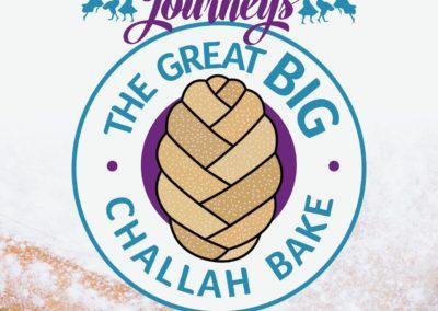 Jewish Journeys Challah Bake Logo