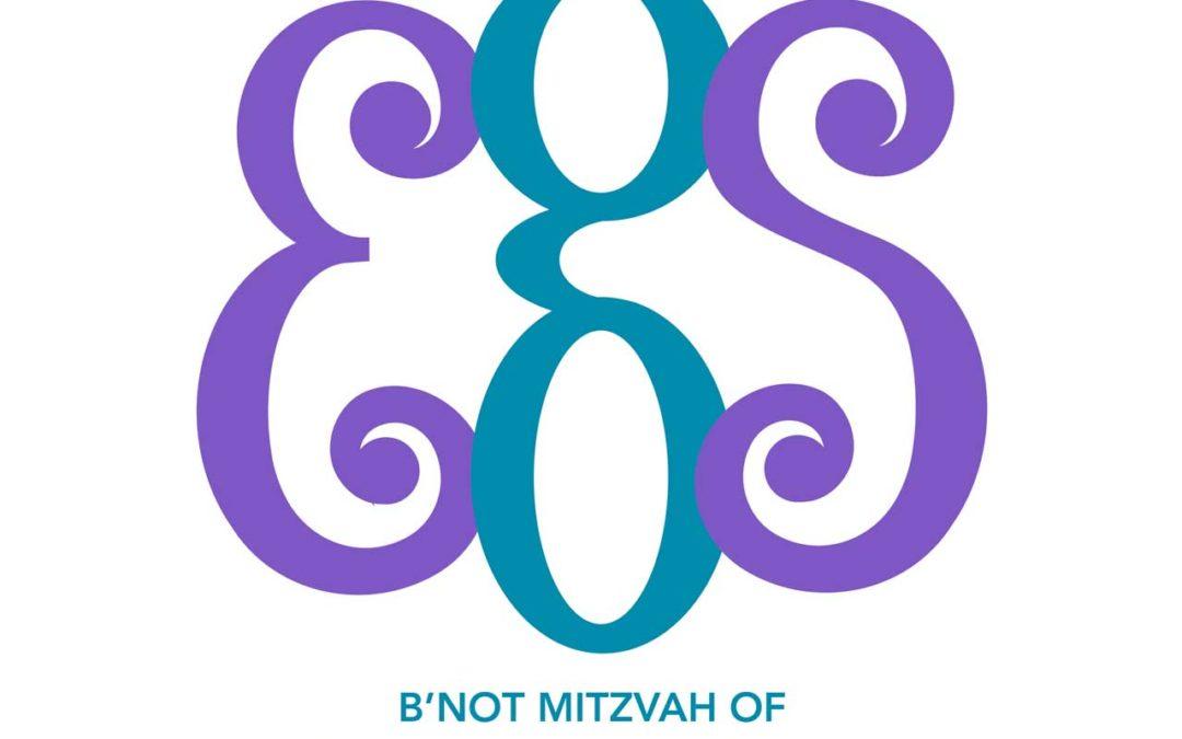 EGS Bat Mitzvah Monogram
