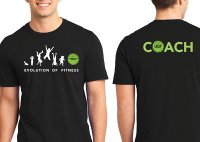 UGT Evolution of Fitness
