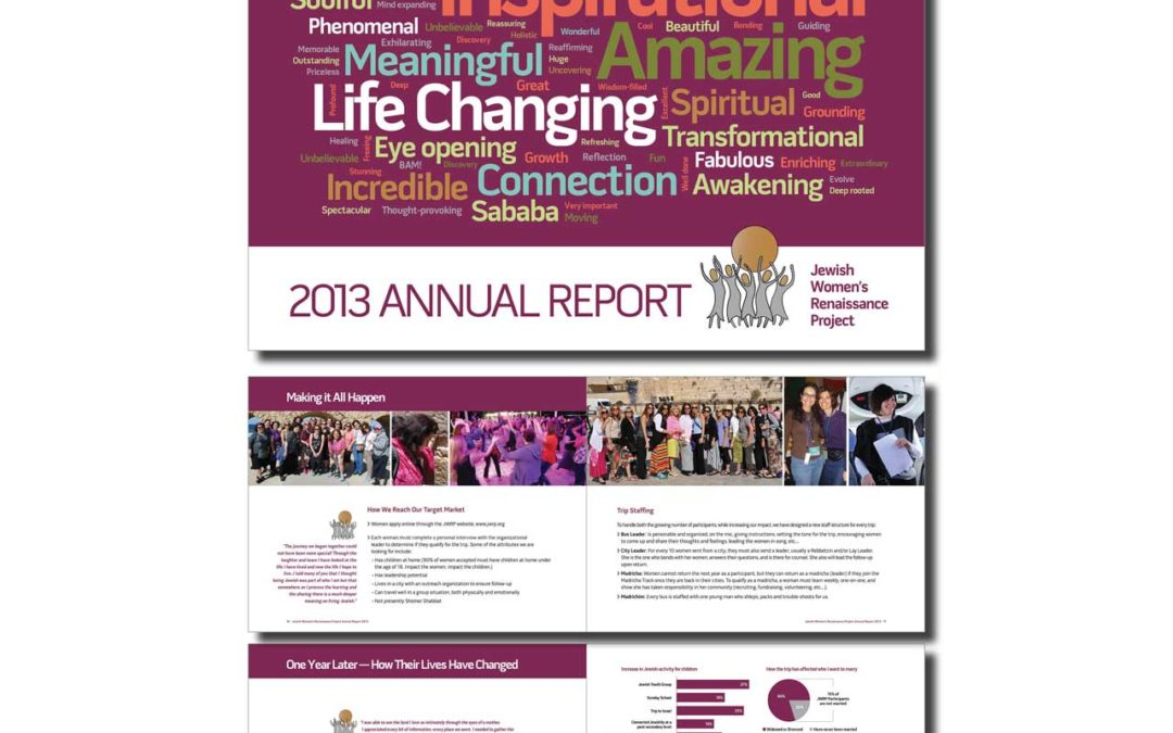 Jewish Women's Renaissance Project Annual Report