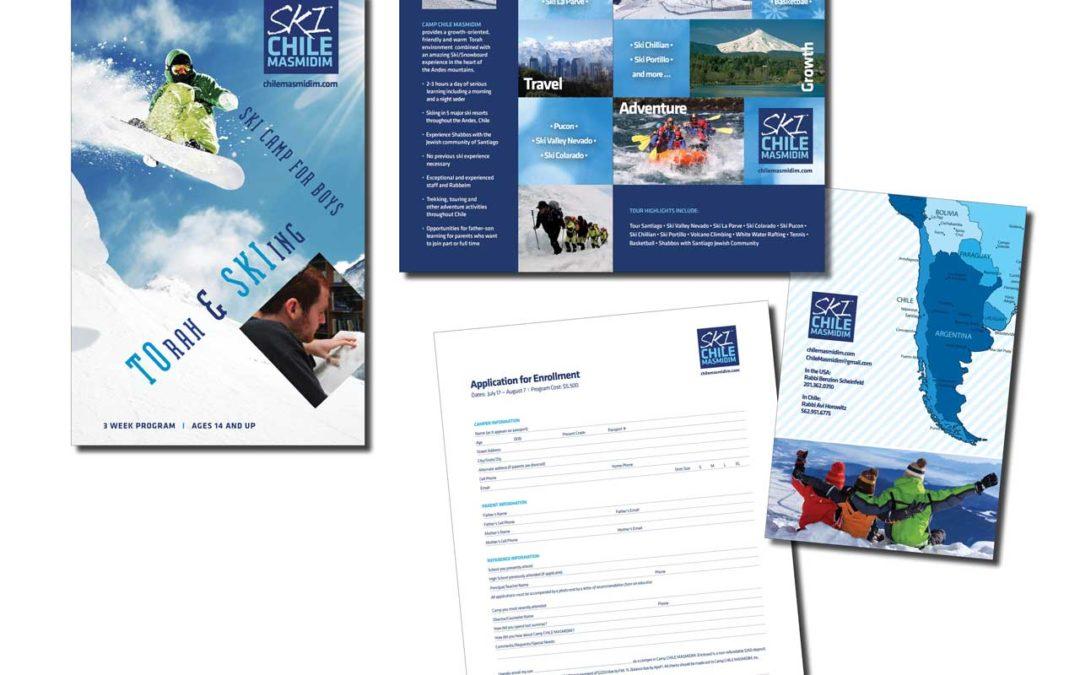 Ski Chile Masmidim Summer Camp Brochure