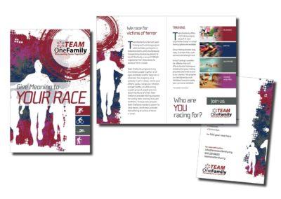 Team OneFamily Race Brochure