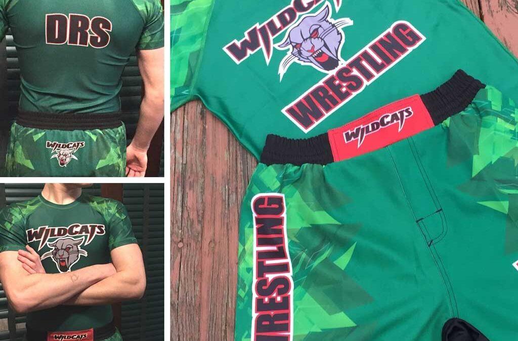 Custom Design and Manufactured Wrestling Gear